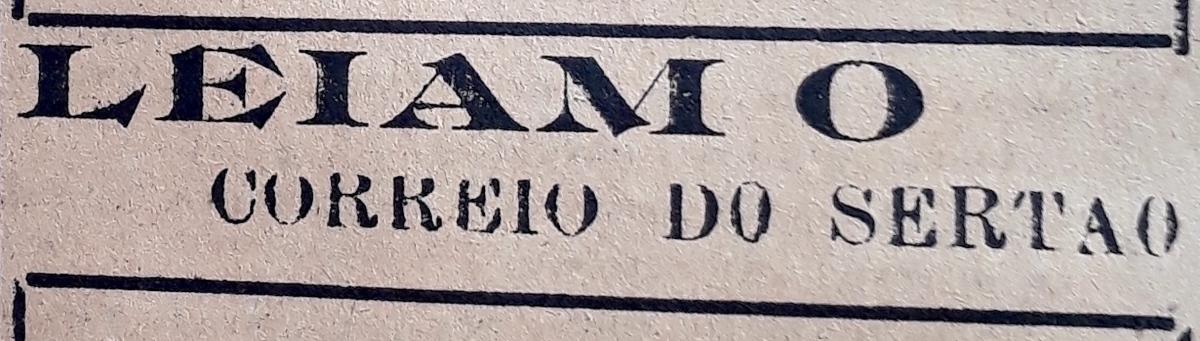 Revivendo o Correio do Sertão(1934-1937)